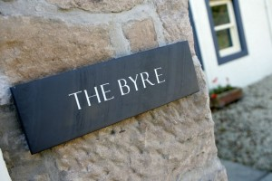 Entrance to The Byre