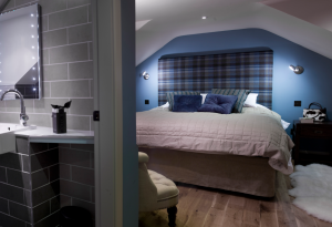 The Mill House - Large double bed